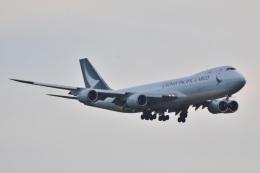 LEGACY-747さんが、成田国際空港で撮影したキャセイパシフィック航空 747-867F/SCDの航空フォト(飛行機 写真・画像)