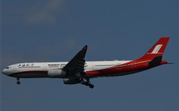 チャーリーマイクさんが、羽田空港で撮影した上海航空 A330-343Xの航空フォト(飛行機 写真・画像)