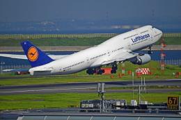 Souma2005さんが、羽田空港で撮影したルフトハンザドイツ航空 747-830の航空フォト(飛行機 写真・画像)
