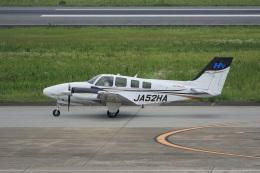 神宮寺ももさんが、長崎空港で撮影した本田航空 Baron G58の航空フォト(飛行機 写真・画像)