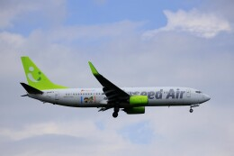 EosR2さんが、鹿児島空港で撮影したソラシド エア 737-81Dの航空フォト(飛行機 写真・画像)