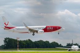 gomaさんが、ミュンヘン・フランツヨーゼフシュトラウス空港で撮影したトゥイフライ 737-8K5の航空フォト(飛行機 写真・画像)