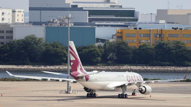 誘喜さんが、羽田空港で撮影したカタールアミリフライト A330-202の航空フォト(飛行機 写真・画像)