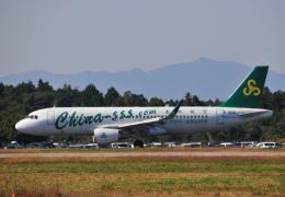 チャーリーマイクさんが、茨城空港で撮影した春秋航空 A320-214の航空フォト(飛行機 写真・画像)