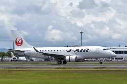ワイエスさんが、鹿児島空港で撮影したジェイエア ERJ-170-100 (ERJ-170STD)の航空フォト(飛行機 写真・画像)