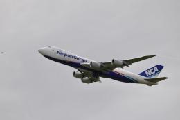 mahiちゃんさんが、成田国際空港で撮影した日本貨物航空 747-8KZF/SCDの航空フォト(飛行機 写真・画像)