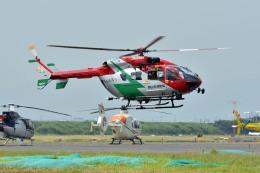 Gambardierさんが、岡南飛行場で撮影した岡山市消防航空隊 BK117C-2の航空フォト(飛行機 写真・画像)