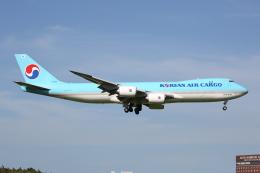 よっしぃさんが、成田国際空港で撮影した大韓航空 747-8B5F/SCDの航空フォト(飛行機 写真・画像)