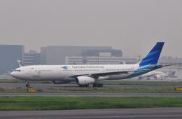 チャーリーマイクさんが、羽田空港で撮影したガルーダ・インドネシア航空 A330-343Xの航空フォト(飛行機 写真・画像)