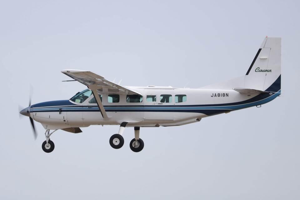だいふくさんの中日本航空 Cessna 208 (JA818N) 航空フォト