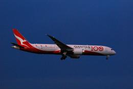 アルビレオさんが、成田国際空港で撮影したカンタス航空 787-9の航空フォト(飛行機 写真・画像)