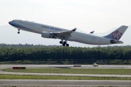 planetさんが、新千歳空港で撮影したチャイナエアライン A330-302の航空フォト(飛行機 写真・画像)