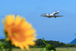 くれないさんが、高松空港で撮影した国土交通省 航空局 525C Citation CJ4の航空フォト(飛行機 写真・画像)