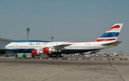 hs-tgjさんが、ドンムアン空港で撮影したオリエント・タイ航空 747-306Mの航空フォト(飛行機 写真・画像)