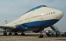 hs-tgjさんが、ドンムアン空港で撮影したオリエント・タイ航空 747-146の航空フォト(飛行機 写真・画像)