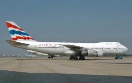 hs-tgjさんが、ドンムアン空港で撮影したオリエント・タイ航空 747-246Bの航空フォト(飛行機 写真・画像)