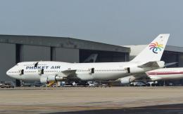 hs-tgjさんが、ドンムアン空港で撮影したプーケット航空 747-312の航空フォト(飛行機 写真・画像)