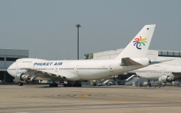 hs-tgjさんが、ドンムアン空港で撮影したプーケット航空 747-2U3Bの航空フォト(飛行機 写真・画像)