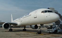 hs-tgjさんが、ドンムアン空港で撮影したプーケット航空 757-2Q8の航空フォト(飛行機 写真・画像)