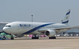 hs-tgjさんが、ドンムアン空港で撮影したエル・アル航空 777-258/ERの航空フォト(飛行機 写真・画像)