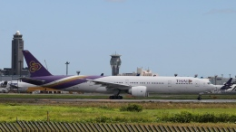 raichanさんが、成田国際空港で撮影したタイ国際航空 777-3AL/ERの航空フォト(飛行機 写真・画像)