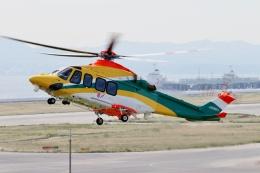 TA27さんが、関西国際空港で撮影した朝日航洋 AW139の航空フォト(飛行機 写真・画像)