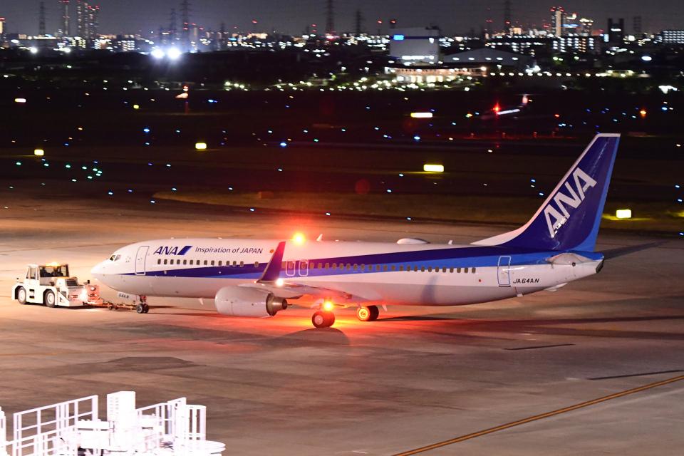 TOPAZ102さんの全日空 Boeing 737-800 (JA64AN) 航空フォト