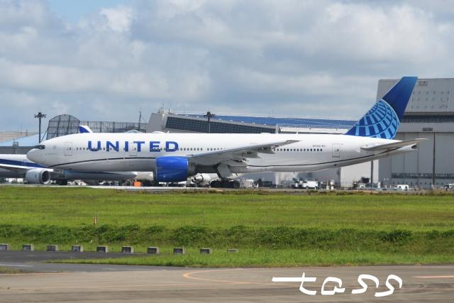 tassさんが、成田国際空港で撮影したユナイテッド航空 777-224/ERの航空フォト(飛行機 写真・画像)