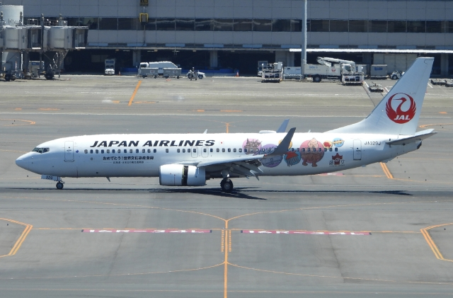 チャレンジャーさんが、羽田空港で撮影した日本航空 737-846の航空フォト(飛行機 写真・画像)