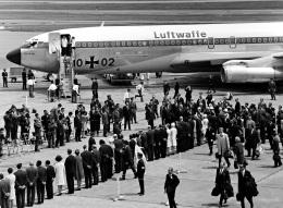 Y.Todaさんが、羽田空港で撮影したドイツ空軍 707-300の航空フォト(飛行機 写真・画像)
