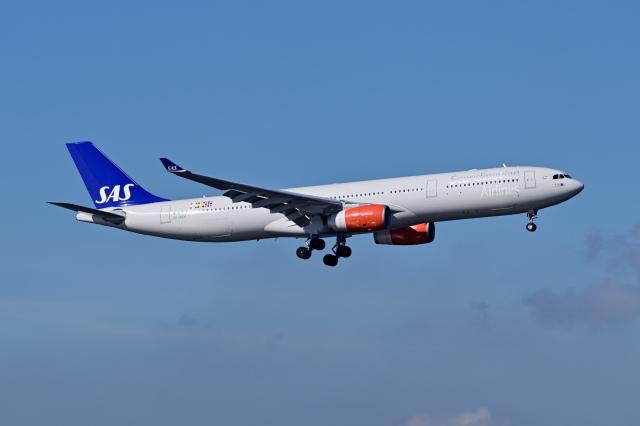 Frankspotterさんが、羽田空港で撮影したスカンジナビア航空 A330-343Xの航空フォト(飛行機 写真・画像)