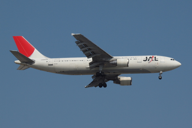 Deepさんが、羽田空港で撮影した日本航空 A300B4-622Rの航空フォト(飛行機 写真・画像)