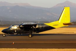 ズイ₍₍ง˘ω˘ว⁾⁾ズイさんが、鹿児島空港で撮影した新日本航空 BN-2B-20 Islanderの航空フォト(飛行機 写真・画像)