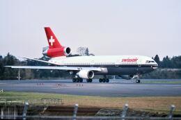 パール大山さんが、成田国際空港で撮影したスイス航空 DC-10-30/ERの航空フォト(飛行機 写真・画像)