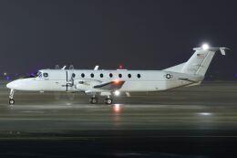 ズイ₍₍ง˘ω˘ว⁾⁾ズイさんが、鹿児島空港で撮影したアメリカ空軍 C-12J (1900C-1)の航空フォト(飛行機 写真・画像)