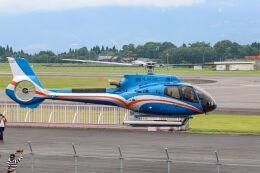 ズイ₍₍ง˘ω˘ว⁾⁾ズイさんが、鹿児島空港で撮影したオートパンサー EC130T2 (H130)の航空フォト(飛行機 写真・画像)
