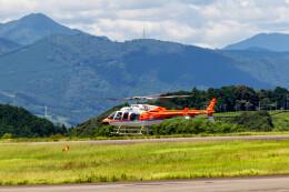 pcmediaさんが、静岡空港で撮影した新日本ヘリコプター 407の航空フォト(飛行機 写真・画像)