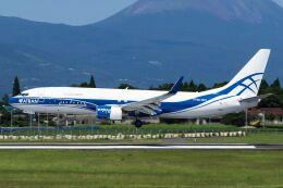 ズイ₍₍ง˘ω˘ว⁾⁾ズイさんが、鹿児島空港で撮影したアトラン・アヴィアトランス・カーゴ・エアラインズ 737-8AS(BCF)の航空フォト(飛行機 写真・画像)