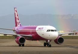 航空フォト:JA822P ピーチ A320
