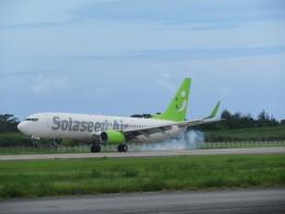 ノリださんが、下地島空港で撮影したソラシド エア 737-86Nの航空フォト(飛行機 写真・画像)