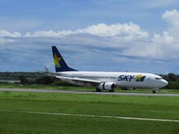 ノリださんが、下地島空港で撮影したスカイマーク 737-81Dの航空フォト(飛行機 写真・画像)
