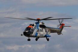 しょうせいさんが、岡南飛行場で撮影した中日本航空 AS332L1 Super Pumaの航空フォト(飛行機 写真・画像)