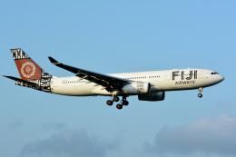 アルビレオさんが、成田国際空港で撮影したフィジー・エアウェイズ A330-243の航空フォト(飛行機 写真・画像)