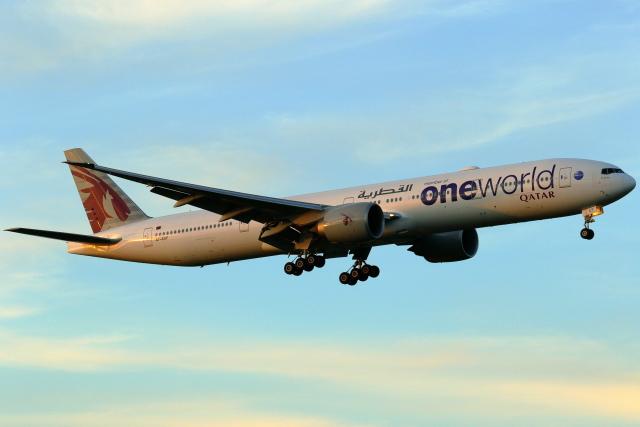 2021年08月05日に撮影されたカタール航空の航空機写真