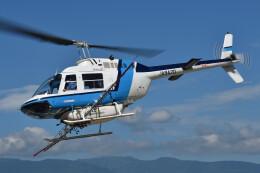 ミルハスさんが、東北某所で撮影したヘリサービス 206B-3 JetRanger IIIの航空フォト(飛行機 写真・画像)
