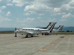 TKOSSNさんが、旭川空港で撮影したフランス企業所有 200 Super King Airの航空フォト(飛行機 写真・画像)