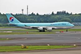 OMAさんが、成田国際空港で撮影した大韓航空 747-4B5F/ER/SCDの航空フォト(飛行機 写真・画像)