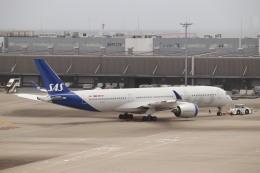 HYF 350さんが、羽田空港で撮影したスカンジナビア航空 A350-941の航空フォト(飛行機 写真・画像)