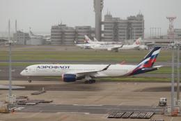 HYF 350さんが、羽田空港で撮影したアエロフロート・ロシア航空 A350-941の航空フォト(飛行機 写真・画像)