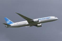 宮崎 育男さんが、成田国際空港で撮影したエア・ヨーロッパ 787-9の航空フォト(飛行機 写真・画像)